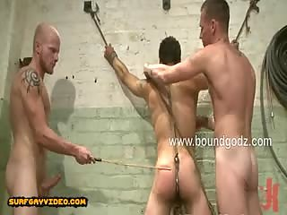Luke Riley and Jesse Alan discover DJ tied up in a cage and they want to have some fun