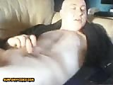 bald man moaning