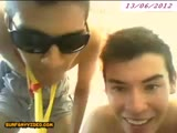 2 spanish boys play on cam
