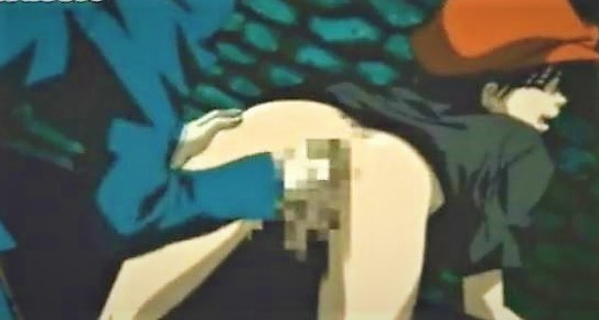Young anime gets his anal hole fingered and molested by gay