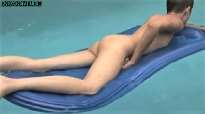Teen at Pool