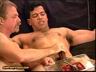 CBT Young stud with huge cock gets balls squeezed in my vice as I jack him off till he cums.